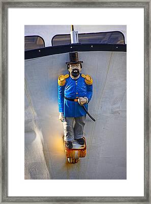 Emperor Norton Figurehead Framed Print by Garry Gay