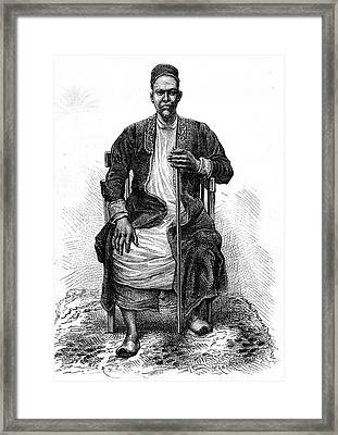 Emperor Of Uganda Framed Print
