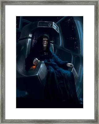 Emperor Palpatine Framed Print
