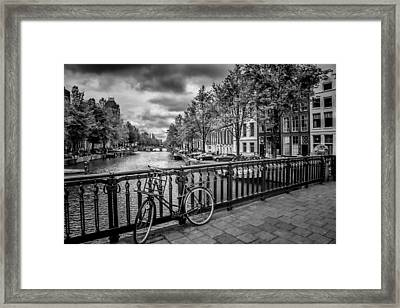 Emperor's Canal Amsterdam Framed Print by Melanie Viola