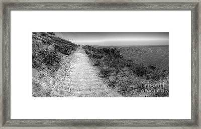 Empire Bluff Trail Framed Print by Twenty Two North Photography