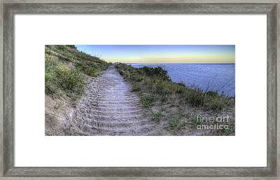 Empire Bluff Framed Print by Twenty Two North Photography