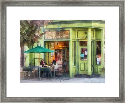Hoboken Nj - Empire Coffee And Tea Framed Print