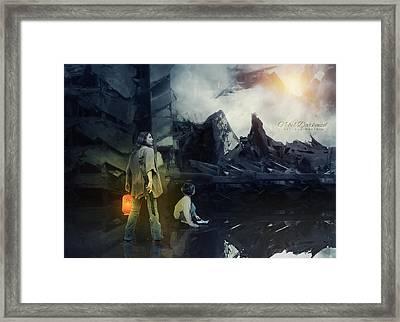 Empire Of The Sun Framed Print by Adriana Montoza