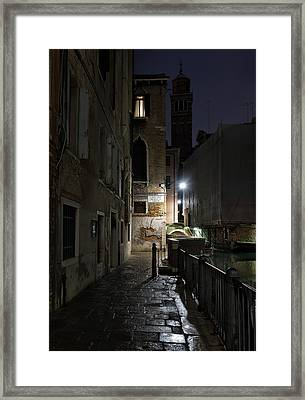 Framed Print featuring the photograph Empire Of Venetian Light by Marion Galt