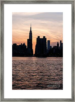 Empire On 5th Avenue Framed Print