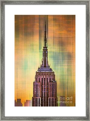 Empire State Building 3 Framed Print