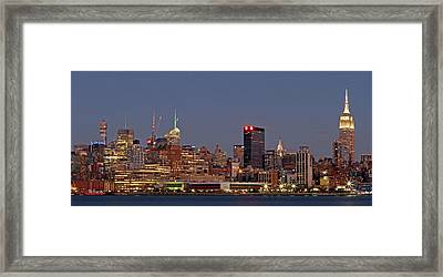 Empire State Building Framed Print by Juergen Roth