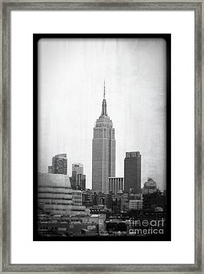 Empire State Framed Print by Paul Cammarata