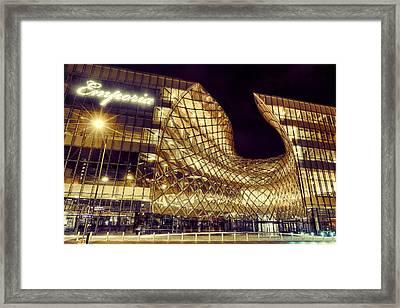 Emporia By Night Framed Print
