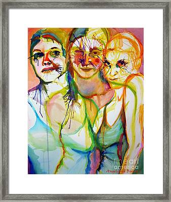 Empowerment Framed Print by Angelique Bowman