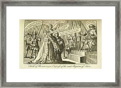Empress Framed Print by British Library
