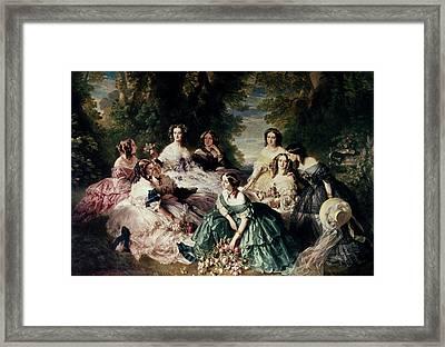 Empress Eugenie (1826-1920) Framed Print by Granger
