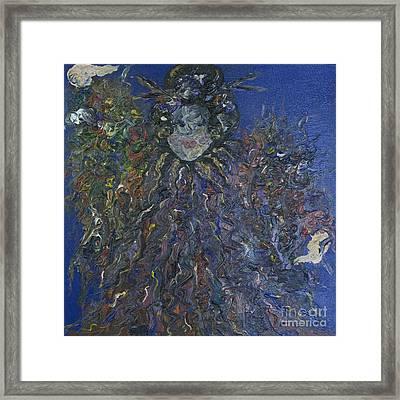 Empress Framed Print by Jeanne Ward
