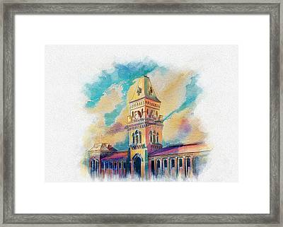 Empress Market Karachi Framed Print by Catf
