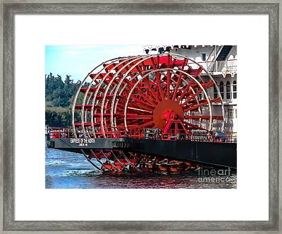 Empress Of The North Framed Print by Robert Bales