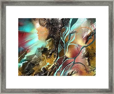 Emprise Framed Print by Francoise Dugourd-Caput