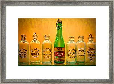 Empties Framed Print by James Barber