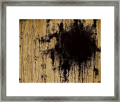 Emptiness Framed Print by Marlon Huynh
