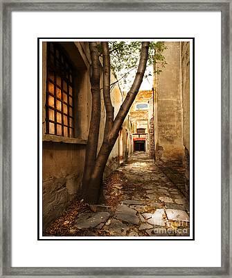 Empty Corridor Framed Print