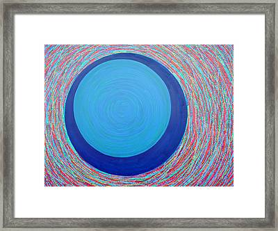 Empty Cup 2 Framed Print by Kyung Hee Hogg