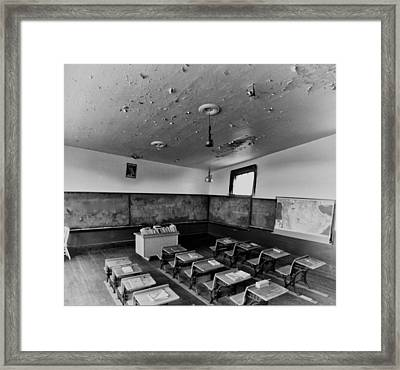 Empty Curriculum Framed Print by Starlux  Productions