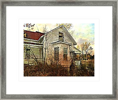 Empty Dreams  Framed Print by Dianne  Lacourciere