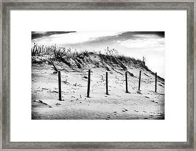 Empty Dune Framed Print