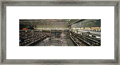 Empty Mercantile Exchange, Chicago Framed Print