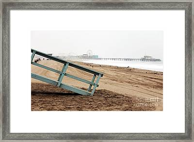 Empty Morning Framed Print by John Rizzuto