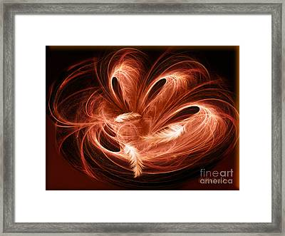 Empty Nest - Abstract Fractal Art By Giada Rossi Framed Print by Giada Rossi