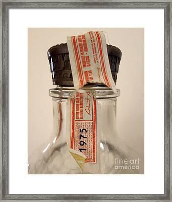 Empty Framed Print by Patricia Januszkiewicz