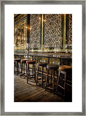 Empty Pub Framed Print