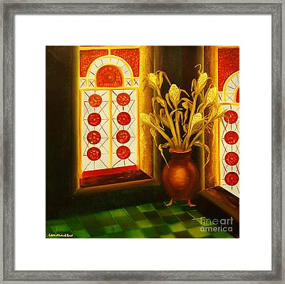 Empty Room-original Sold-buy Giclee Print Nr 23 Of Limited Edition Of 40 Prints  Framed Print