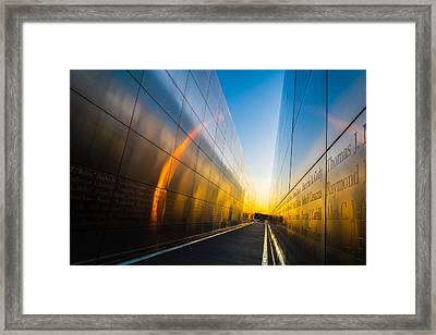 Empty Sky Framed Print by Kristopher Schoenleber