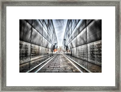 Empty Sky Memorial Framed Print