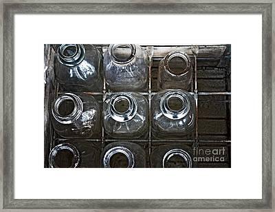 Empty Slots Framed Print by JW Hanley