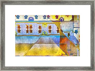 Empty Stage Framed Print by RC deWinter