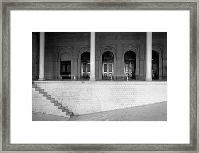 Empty Swimming Pool Framed Print by Jagdish Agarwal