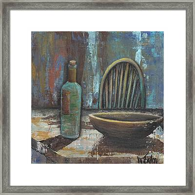'empty' Framed Print
