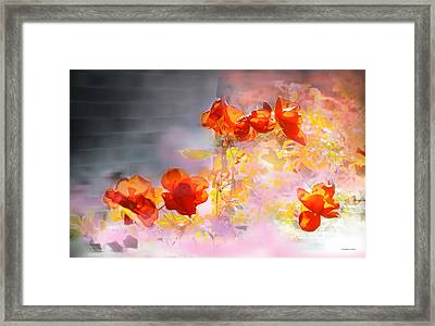 En La Pared Framed Print