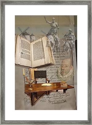 En Un Lugar De La Mancha... Framed Print