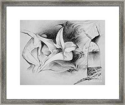 En Voyage Framed Print by Lin Petershagen