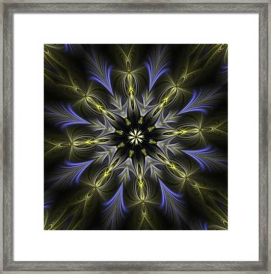 Enamored Mandala Framed Print