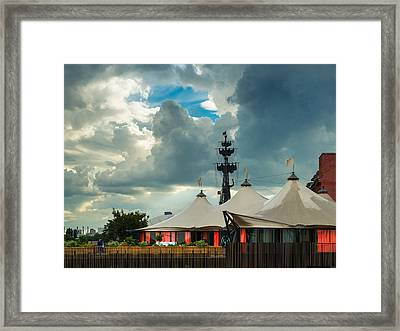 Encampment Of The Human Being - Featured 3 Framed Print