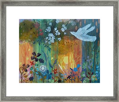 Framed Print featuring the painting Encantador by Robin Maria Pedrero