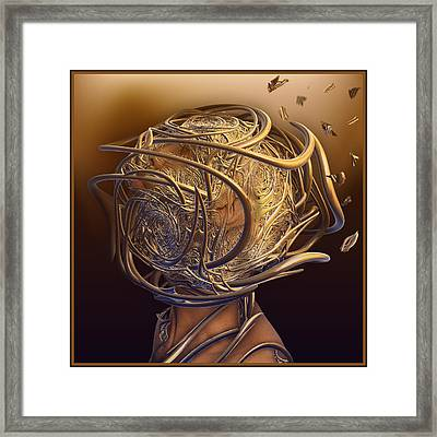 Encased In Thoughts Framed Print