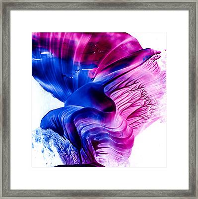 Encaustic 1836 Framed Print by Hakon Soreide