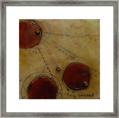 Encaustic #2 Framed Print