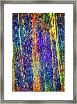 Encaustic Cave Framed Print